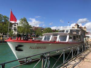 アヌシーボート